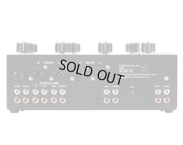 画像4: MODEL1000 Music Mixer limited edition キズ有り現品限り(B品)